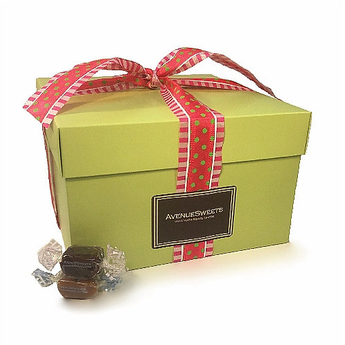 Large Spring Gourmet Gift Box - 3 lbs. (approx. 110 caramels)