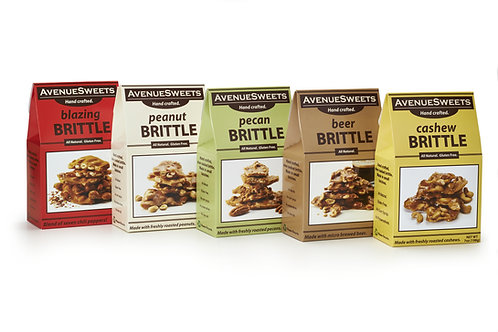 7oz. Brittle Boxes: case size = 12