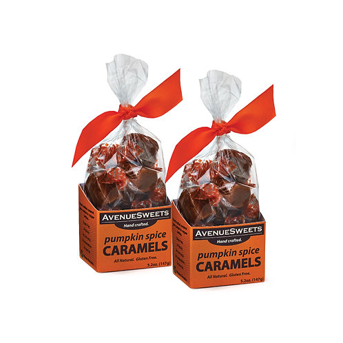 5.2oz Pumpkin Spice Caramels 2-pack (approx. 25 caramels)