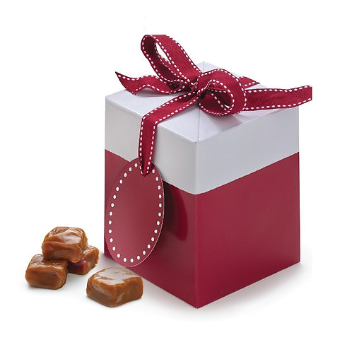 1 lb. Ruby Red Gift Box (approx. 35 caramels)