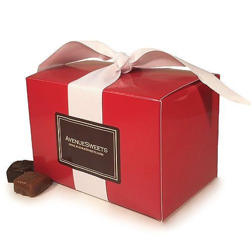 1lb. Simply Caramel Gift Box Special: Buy 10. Save $25. (approx 35 caramels/box)