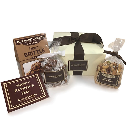 Small Father's Day Gift Pack (Caramels, Brittle and Nuts)