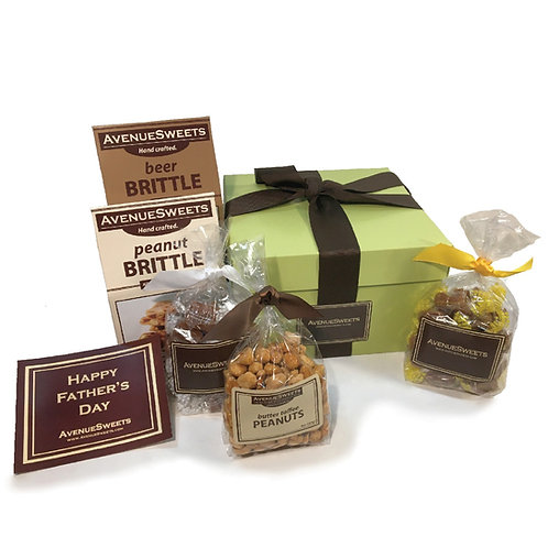 Large Father's Day Gift Pack (Caramels, Brittle and Nuts)