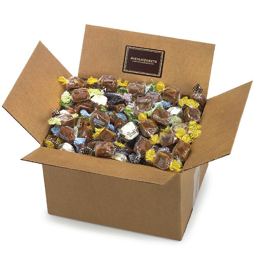 Caramels: 5 lbs. individually wrapped (approx. 180 caramels)