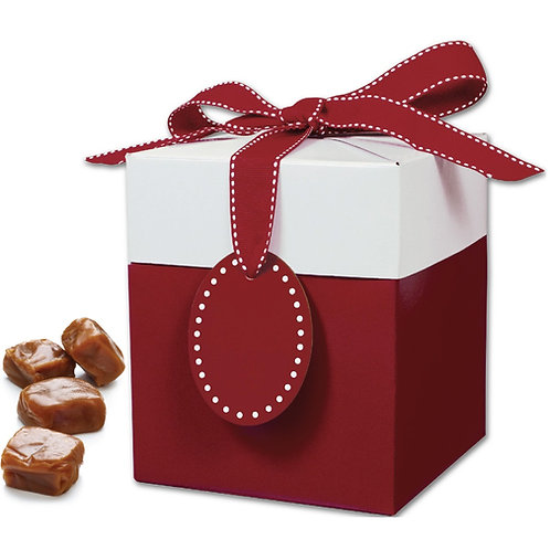 2 lb. Ruby Red Gift Box (approx. 70 caramels)