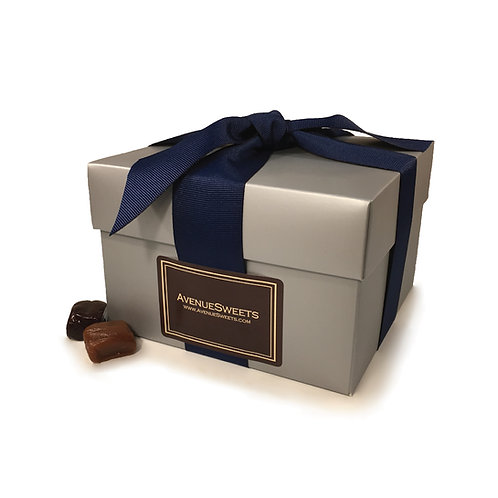 Silver 1.5 lb. Gourmet Gift Box (approx. 55 caramels)