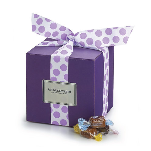 Plum Gift Box - 3 lbs. (approx. 110 caramels)