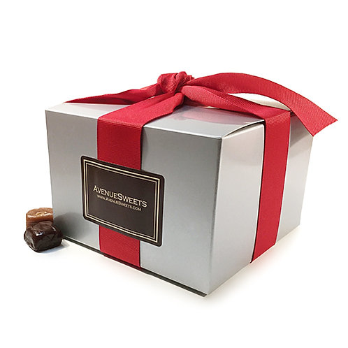 1.5 lb. Crave Caramel Gift Box Special: Buy 5. Save $20 (approx 55 caramels/box)