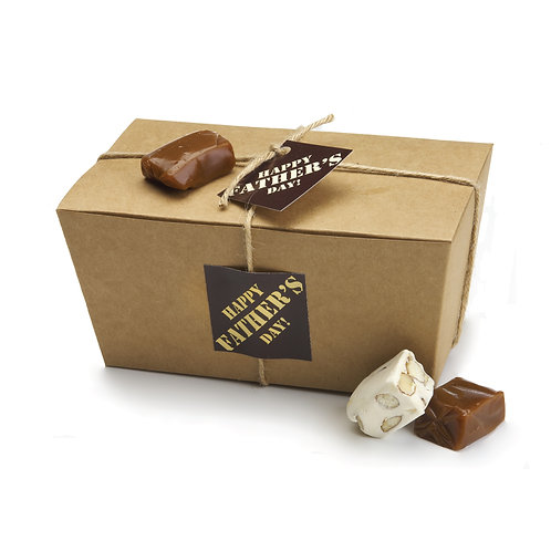 Large Ballotin-style Gift Box for Dad - 1 lb. (approx. 35 caramels)