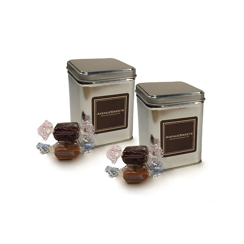 Small Gift Tin 2-pack (approx. 25 caramels)