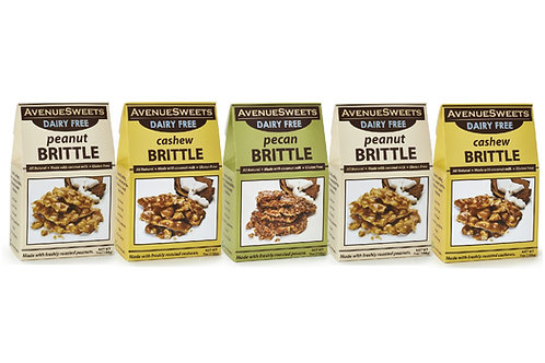 DAIRY FREE vegan brittle: buy 5 and save $10