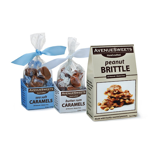Combo: Caramels and Brittle