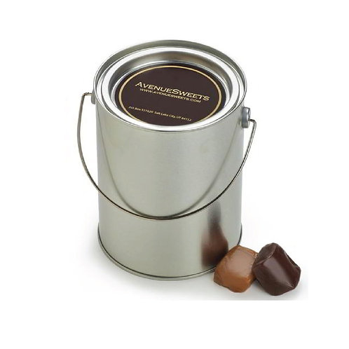 Pails: clear craft or metal - 12oz. (approx. 25 caramels)