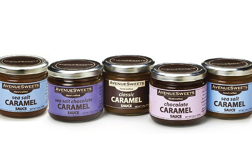Caramel sauce: 12oz jars - buy 5 and save $5