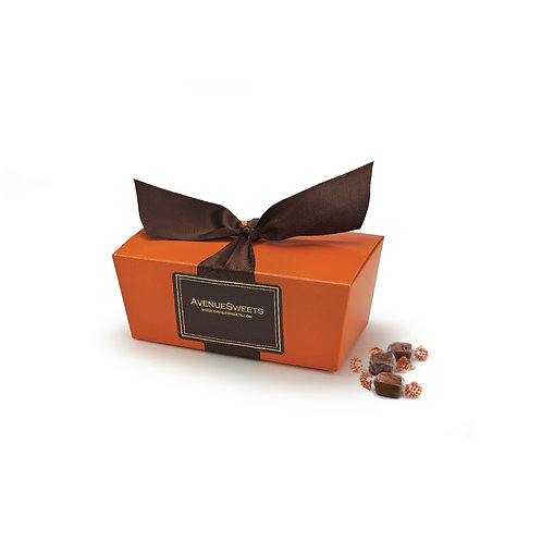 Small Fall Ballotin-style Gift Box - 1/2 lb. (approx. 18 caramels)