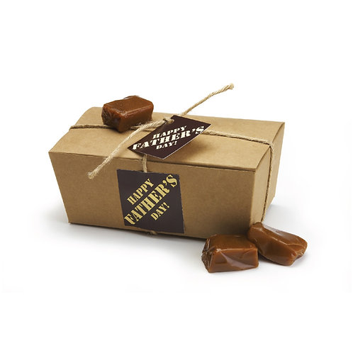 Small Ballotin-style Gift Box for Dad - 1/2 lb. (approx. 18 caramels)