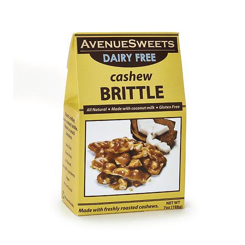 DAIRY FREE vegan brittle: 7oz box