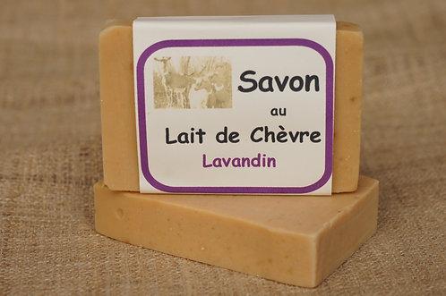 savon au lait de chèvre Lavandin Argile blanche