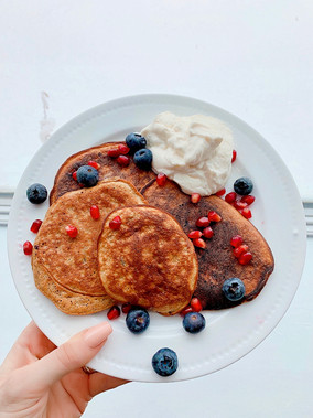 Healthified (5 ingredients) pancakes