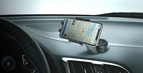 Peripower suction cup car phone holder