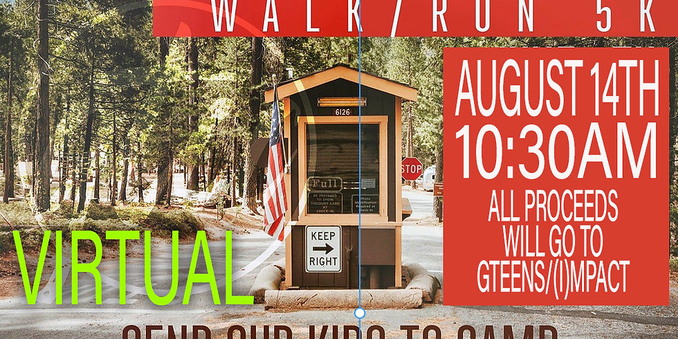 Impact Youth/GTeens 5K Virtual Run/Walk (1)