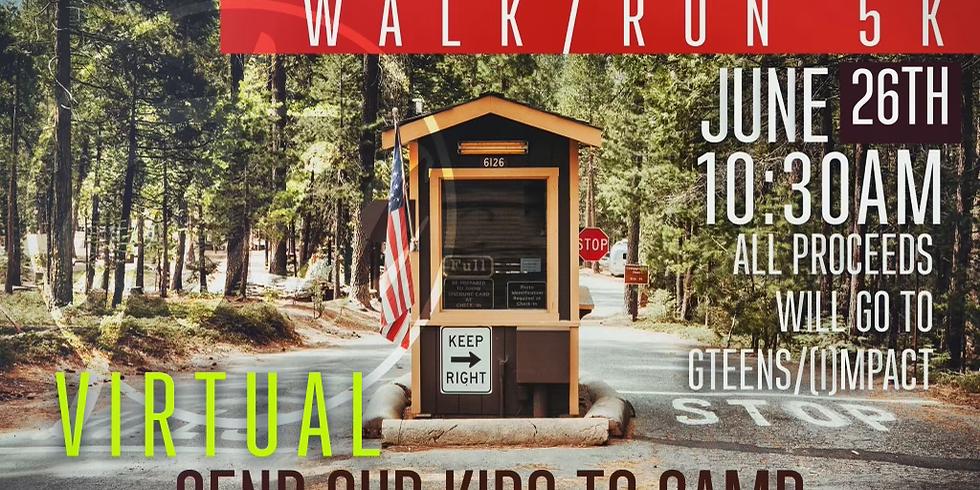 Impact Youth/GTeens 5K Virtual Run/Walk