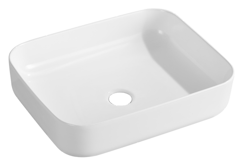 500mm Ceramic Rectangle Basin