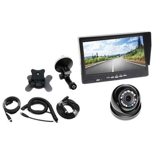 """NCE Wired Reverse Camera with 7"""" TFT LCD Display"""