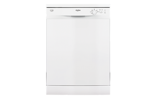 Dishlex 12 Place Setting White Freestanding Dishwasher
