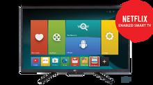 """NCE 12V 28"""" Smart TV DVD Combo"""