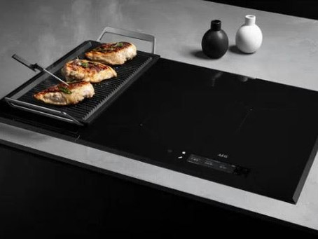 World-First Cooktop with Sensor by AEG