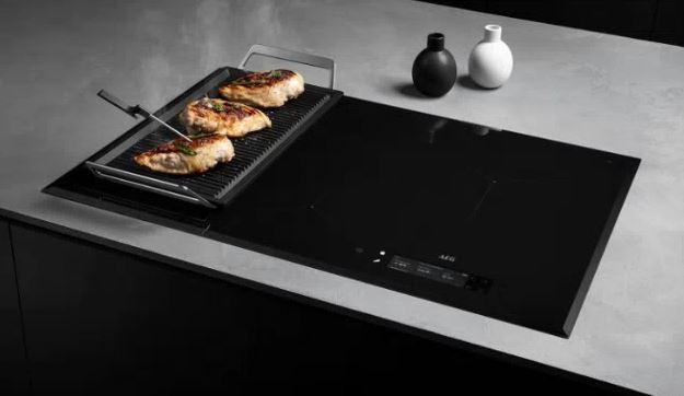 AEG cooktop
