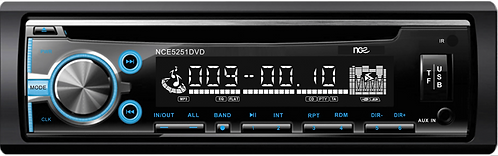NCE Single-DIN DVD Multimedia Player