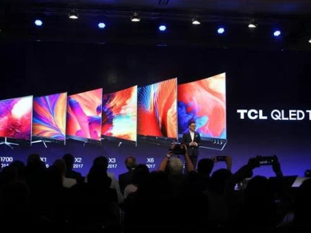 Unveiling of TCL 8K TV at IFA