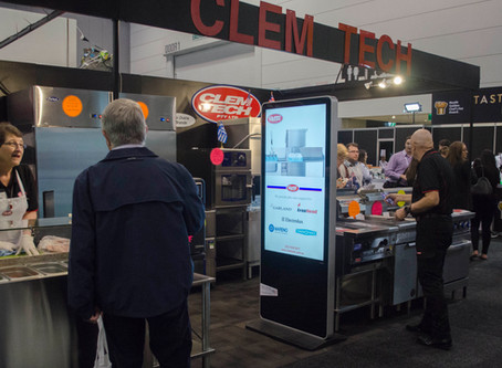 CHiQ Smart Digital Signage at Fine Food Australia 2018