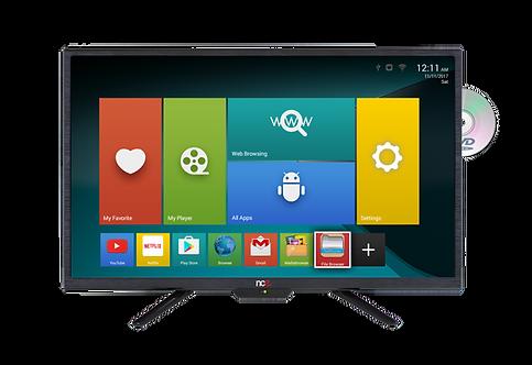 """NCE 24"""" Smart LED TV/DVD Combo 12V - Gen I"""