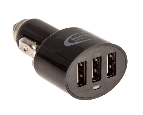 Baintech 5V/5.2A Car Charger Triple USB