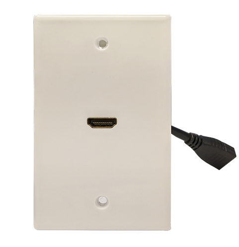 NCE HDMI Wall Plate