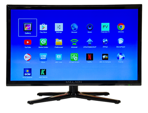 "Englaon 22"" LED Smart TV - Battery Powered"