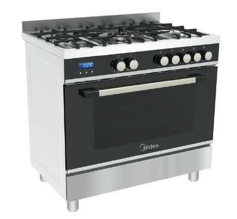 Midea 90CM Freestanding Gas Cooker