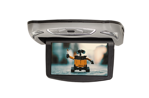 """10.1"""" Roof Mount DVD Player with 2 sets of Headphones"""