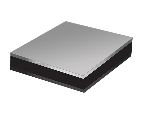 Aluminium Composite Panel - Black/Silver