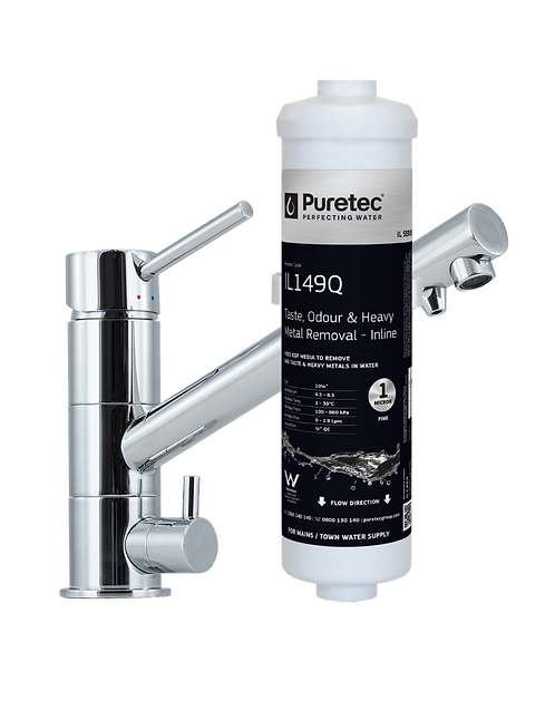 Puretec 3-Way Water Filter Kit