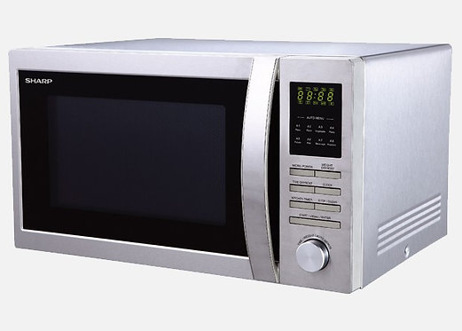 Sharp 900W Stainless Steel Microwave Oven