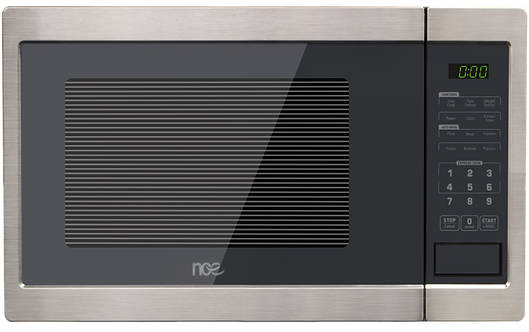 NCE 23L Microwave Oven 900W - Black Flatbed
