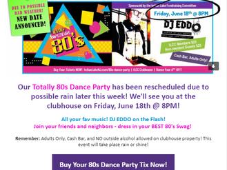 80's Dance Party!