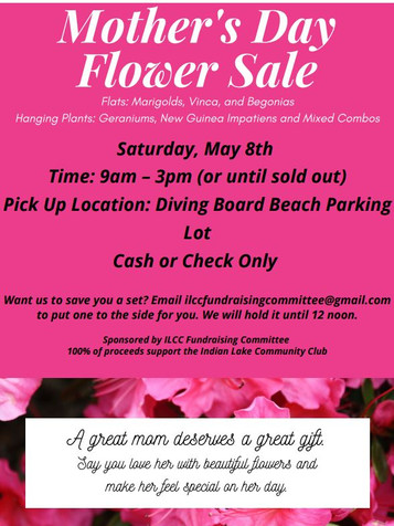 Mother's Day Flower Sale!