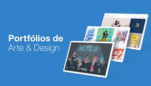 17 Exemplos de Portfólios de Arte e Design para Copiar em Seu Site