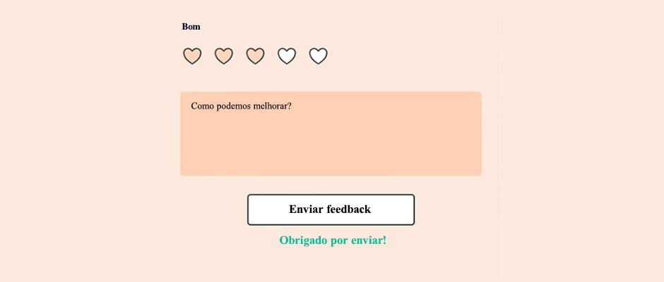 Principais elementos de formulários online: confirmação de envio