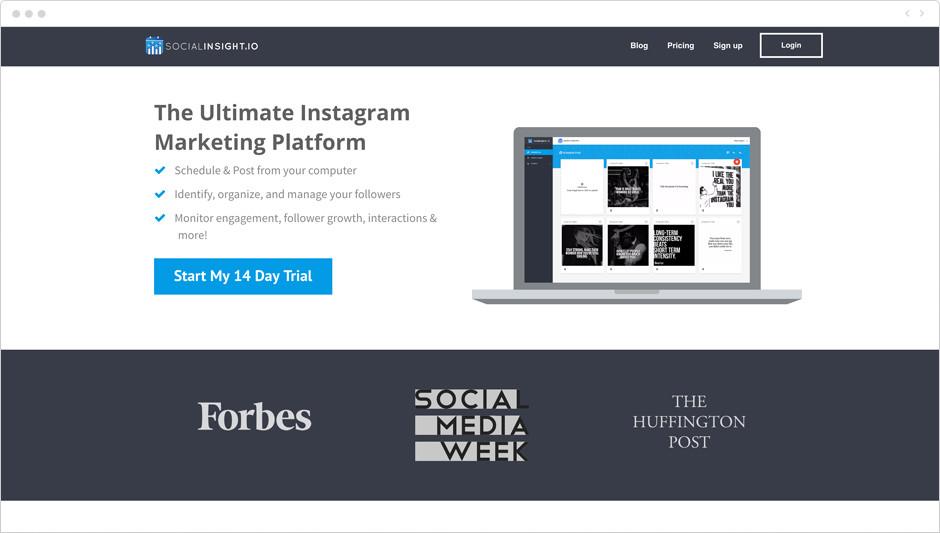 Melhores Aplicativos para Instagram para Sua Marca: Social Insight
